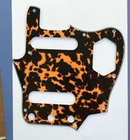 Guitar Parts For US Fender Jaguar Guitar Pickguard Scratch Plate, leopard print