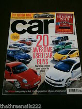 CAR MAGAZINE - 911 TURBO TIME - JUNE 2013