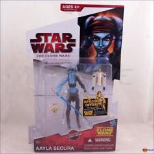 Star Wars Clone Wars 2009 Aayla Secura with Flight Gear CW40 action figure