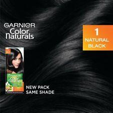 Garnier Color Naturals 1 Natural Black Crème Riche No Amonia Hair Color 60ml+50g