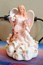 Musical Angel Figurine Statue What a Friend I Have in Jesus