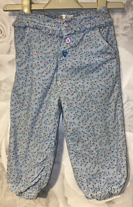 Girls Age 9-12 Months - M&Co Trousers - Lined Fine Cord