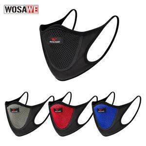 WOSAWE Anti-Dust Cycling Mask Breathable Bike Face Mask Motorcycle Washable