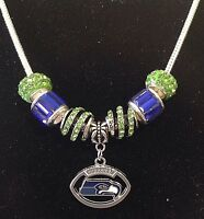 Seattle Seahawks Football Necklace Quality Fast Shipping USA Seller