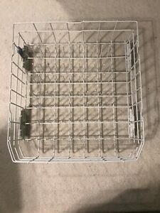 Whirlpool Kenmore Lower Dishrack W10780925 and Wheels (x4) WP8268645 Excellent