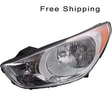 Halogen Head Lamp Assembly Driver Side Fits 2010-2013 Hyundai Tucson HY2502158