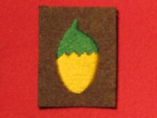 BRITISH ARMY WW2 36TH INFANTRY BRIGADE FORMATION BADGE ACORN EMBROIDERED