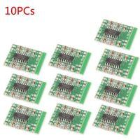 10X Mini PAM8403 Audio Module Digital Amplifier Board Class D 2*3W USB Power HQ