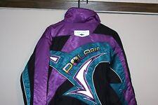 Polaris Snowmobiling VTG Thermo Jacket Men Medium Multi Teal Black Racing Hip