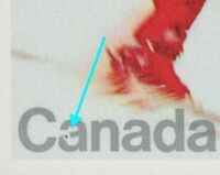 Error/Variety = SNOWBALL in 'a' = Olympics=Lake Placid= Canada 1980 #848 [ec208]