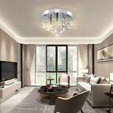 LED Kristall Deckenlampe Decken-Leuchte Design Warmweiß Wohnzimmer 3 * G9