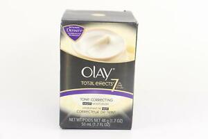 Olay Total Effects 7In1 Tone Correcting Night Moisturizer 1.7 fl. Oz U21A