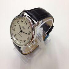 SARTEGO Toledo Men's Genuine Crocodile Leather Japan Quartz Watch SEN554B