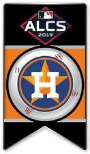 2019 HOUSTON ASTROS ALCS BANNER PIN MLB AMERICAN LEAGUE CHAMPIONSHIP SERIES