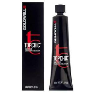 Goldwell Topchic Hair Colour Permanent Hair Dye, 60ml, Shade # 6B Gold Brown