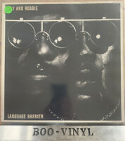 Sly And Robbie Language Barrier LP Album Vinyl Island Records Reggae 80's Ex Con
