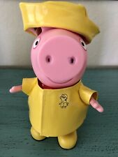 Peppa Pig Rainy Day Doll 9 Inch Poseable