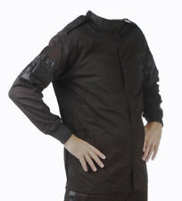Medium Black Single Layer Driving Jacket Fire Race SFI 3.2A Rated