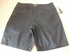 Mens size 34 Black QUIKSILVER Minor Road Chono shorts *NEW* RRP $69.99