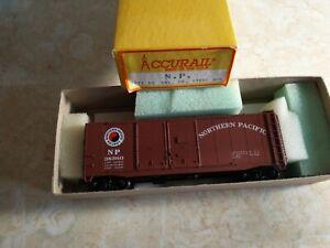 Accurail HO 3021 40 Foot Double Door Steel Boxcar NP #38360 Built