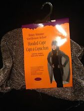 Brand New - Silver Shiny Shimmery Hooded Cape - Children's Costume