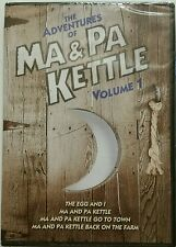 The Adventures of MA & PA KETTLE Volume 1 (2 DVD Set) *NEW* SHIPS FAST Mon-Sat!