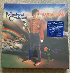 MARILLION Misplaced Childhood Ltd Ed 4LP Vinyl Deluxe Box Set NEW & SEALED, FISH