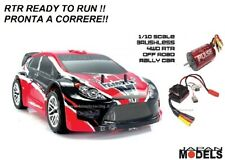 Hsp Rk Himoto SPORT RALLY CAR BRUSHLESS SENSORLESS 4WD 2.4GHZ 1/10 Rc RTR New