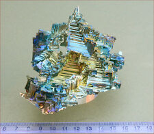 Very large piece of 'architectural' bizmuth crystals. Superb colours. 1283