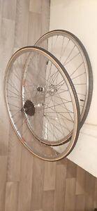Roues vélo vintage 700C Mavic module E clincher rims 97/121,1 mm  MAILLARD-C