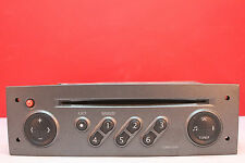 RENAULT MEGANE TUNERLIST CD RADIO PLAYER WITH CODE PHILIPS 2001 2002 2003 2004