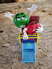 M&M's World Roller Coaster Wold Thing Candy Dispenser M&M World