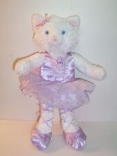 KOALA BABY LAVENDER PURPLE BALLERINA KITTY CAT DOLL PLUSH - GC