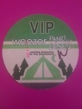 Weezer Panic at the Disco Vip 2016 Andrew McMahon in the Wilderness Tour Dte Mi