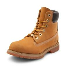 New Timberland Womens 6-Inch Premium Wheat Brown Leather Sneaker Boots Size 7