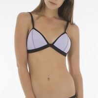 Jetpilot Swimwear Ladies Neo Midnight BIKINI Top RRP $34.99 Size 12 Purple