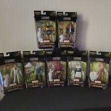 Marvel Legends Super Villians Wave Set of 7 Action Figures Xenmu BAF In Stock