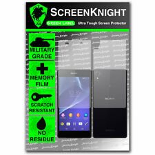 ScreenKnight Sony Xperia Z2 FULL BODY SCREEN PROTECTOR invisible military shield
