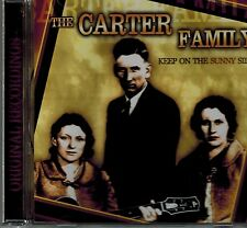 THE CARTER FAMILY - KEEP ON THE SUNNY SIDE - 12 SONGS - MINT CD