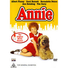ANNIE - BRAND NEW & SEALED DVD CLASSIC (ALBERT FINNEY, TIM CURRY, CAROL BURNETT)