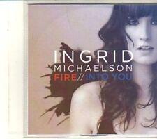 (DQ916) Fire, Ingrid Michaelson - 2012 DJ CD