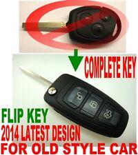2014 DESIGN FLIP REMOTE FOB 08 09 10 2011 FORD FIESTA ALARM CONTROL CHIP KEY 2D2