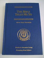 The Bible Tells Me So  Victor P Wierwille Way International Hardback 7th print