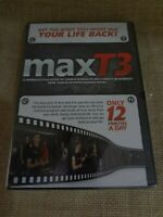 MaxT3 Exercise (DVD) Only 12 Minutes a Day Max T3 New Sealed