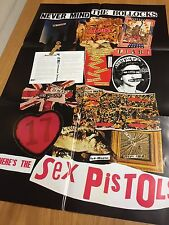"Genuine Virgin records 30th anniversary ""Never Mind The Bollocks"" Pistols Poster"