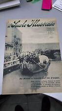 IL SECOLO ILLUSTRATO, Anno IX - N. 4 - 15 febbraio 1921 - Idrovia - ECCELLENTE!!