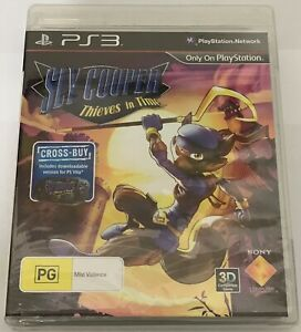 Sly Cooper Thieves in Time Playstation 3 PS3 - BRAND NEW, SEALED