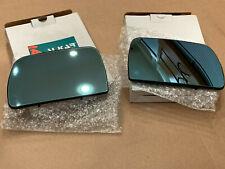 Alkar 6471888 & 6472888 Mirror glass for BMW X5 LH and RH. Heated, blue tint