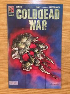 Cold Dead War #1 (2021) Heavy Metal George C. Romero German Ponce HTF