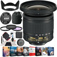 Nikon AF-P DX NIKKOR 10-20mm f/4.5-5.6G VR Lens for F-mount DSLR Cameras Pro Kit